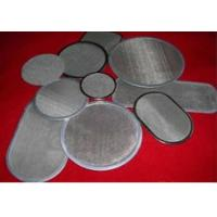 "Wholesale 12"" 20"" SUS304 SUS316 Stainless Steel Wire Mesh / Stainless Steel Filter Disc from china suppliers"