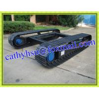 Wholesale factory directly offered custom built steel crawler undercarriage crawler chassis steel track undercarriage from china suppliers