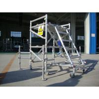 Buy cheap Aluminum alloy Portable Scaffolding for Helicopter Maintenance EN1004 2004 from wholesalers