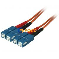 Wholesale Custom OM2 Optical Fiber Cables SC SC Multimode Fiber Patch Cable from china suppliers
