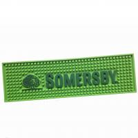 Wholesale Factory directly sales logo printed personalized size PVC bar mat from china suppliers
