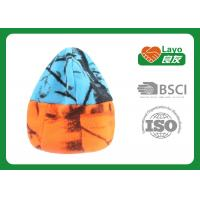 Wholesale Outdoor Winter Fleece Hats For Woman / Men Blaze Orange Blue Color from china suppliers