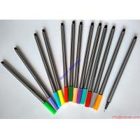 Wholesale Hot selling grey barrel fine liner pens drawing pens,geman standards,cheap fineliner pen from china suppliers