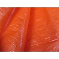 Wholesale orange color finished poly tarp sheet from china suppliers