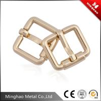 Wholesale Double metal pin belt buckle,metal zinc alloy die casting belt buckle 16.37*13mm from china suppliers
