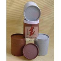 Quality Cardboard Gift Custom Tube Packaging , Paper Packaging Tube Biodegradable for sale
