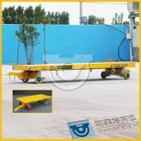 Wholesale High efficiency flat transfer wagon with rubber wheel from china suppliers