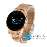 Wholesale Gold Luxurious Bluetooth Smart Watch Wristwatch L1 Support Pedometer from china suppliers