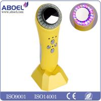 Wholesale DC 12V 500mA Ultrasonic Facial Machine Handle 15 Types , Photon Face Massaging Machine from china suppliers