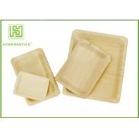 Wholesale Customized Printed Disposable Wooden Plates Wooden Serving Trays For Hotel from china suppliers