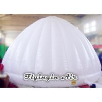Quality 6m White Lighting Inflatable Trade Show Tent for Exhibition and Party for sale