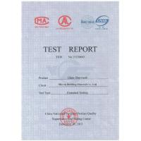 Micvin Building Material Co., Ltd Certifications