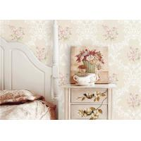 Wholesale Flowers Damask Printing Concise European Country Style Wallpaper Non Pasted from china suppliers