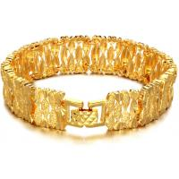 Wholesale Drjobson fashion jewelry 18K Gold plated stainless steel bracelet -BR30 from china suppliers
