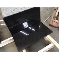 Buy cheap Black Natural Granite Tiles Slab Flamed Honed Machine Cut Split from wholesalers