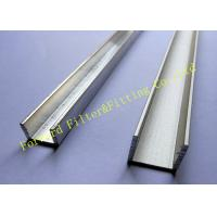 Wholesale Stainless Steel / Aluminum U Channel , Cold Roll Formed Metal C Channel from china suppliers