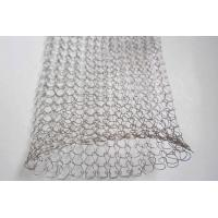 Wholesale 1 / 2 Strands 0.08mm Stainless Steel Knitted Wire Mesh For Tools ISO SGS Listed from china suppliers