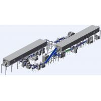 Quality ZKS380 Smaller Puff Production Line With Two Auto Freezing Tunnels for sale