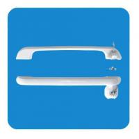 Wholesale Round External ABS Freezer Door Handle Hardware with Lock 340mm from china suppliers