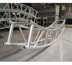 Quality 400*400mm Aluminum Alloy 6082-T6 Square Spigot Arch Lighting Truss / Aluminum Roof Truss for sale