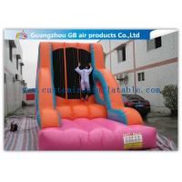 Wholesale Commercial Customized Coloful Inflatable Sports Games Velcro Suit Wall For Climbing from china suppliers