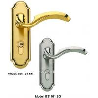 Wholesale Antiqu style waterproof hotel bathroom door lock, cylinder handle lock from china suppliers
