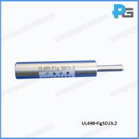 Wholesale UL498 Over Size Ground Pin Conform to SD13.2  with Third-Lab Calibration Certificate from china suppliers