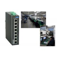 Wholesale High reliablity VLAN division RJ45 8 port poe switch , 1.6Gbps industrial unmanaged ethernet switch from china suppliers