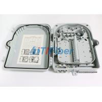 Wholesale SC 12 Port Wall Mount Fiber Termination Box With ABS Plastic Housing from china suppliers