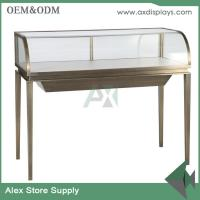 Wholesale luxury jewellery display counter glass showcase classical design store jewelry counter from china suppliers