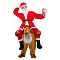 Buy cheap Christmas Ride On Deer Adult Animal Costumes For Halloween Party from wholesalers