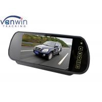 Wholesale Black 7 Inch Car Rear View Mirror Monitor TFT Screen for Vehicle MDVR Kit from china suppliers
