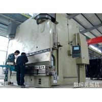 Wholesale Sheet Guillotine Power Shearing Machine Hydraulic Control 2 Cylinders Lifting Up and Down from china suppliers