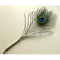 Wholesale Promotional Custom peacock Feather Pen from china suppliers