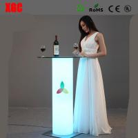 Wholesale Remote Control 16 Colors Changing LED Bar Table Coffee Table Tea Table For Events Party Club Wedding Hotel Decoration from china suppliers
