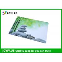 Wholesale Full Color Print Beautiful Table Mats , Bright Coloured Placemats HKP0110-21 from china suppliers