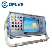 Buy cheap PORTABLE THREE PHASE SECONDARY CURRENT INJECTION PROTECTION RELAY TESTER WITH Harmonic test from wholesalers