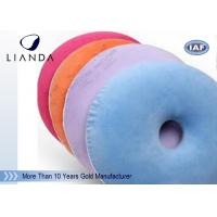Wholesale Cutomized memory foam cushion / donut hemorrhoid seat cushion , High density from china suppliers