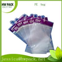 Wholesale PE hanger tips bag from china suppliers