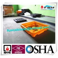 Wholesale Drum Spill Containment Pallets , Pallet Containment Tray For Spilled Fluids from china suppliers
