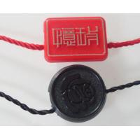 Wholesale Customized Fashion Plastic Hang Drop / Garment Seal Tag For Apparel / Jeans / Handbags from china suppliers