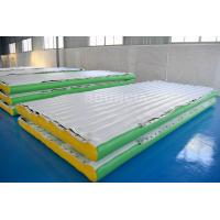 Wholesale 0.9mm PVC Tarpaulin Inflatable Water Floating Platform For Water Park Equipment from china suppliers