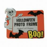 Wholesale Promotional Halloween EVA Foam Photo Frame, Customized Designs, Colors and Sizes are Accepted from china suppliers