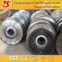 Wholesale Chinese manufacture forged overhead travelling shipping container wheels from china suppliers