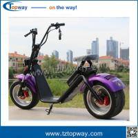 Wholesale High Quality Two Wheel 1500w Citycoco Scooter, 60V 12ah/20ah Battery Electric  harley from china suppliers