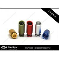 Quality Vaporizer Cigarette Drip Tip Aluminium Drip Tip With Oblique Section for sale