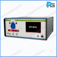 Buy cheap IEC61000-4-4 EMC Testing Equipment 5KV EFT Generator with 16A Coupling and Decoupling Network from wholesalers