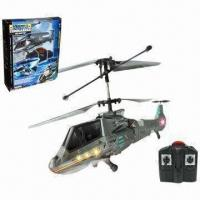 Wholesale 3.5-Channel I/R Battle Helicopter with Gyro, Made of ABS and Nylon Materials from china suppliers