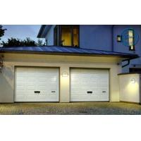 Wholesale Artistic Brown Overhead Garage Doors Folded With Thermal Insulation from china suppliers
