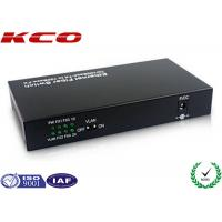 Wholesale Mono Mode Fiber optic Media Converter Ethernet To Fiber Bandwidth Control from china suppliers